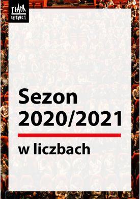 Plakat - SEZON TEATRALNY W LICZBACH
