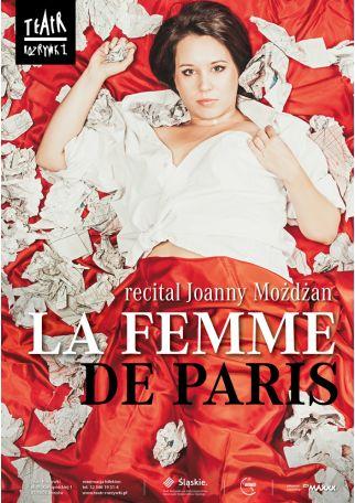 LA FEMME DE PARIS RECITAL JOANNY MOŻDŻAN