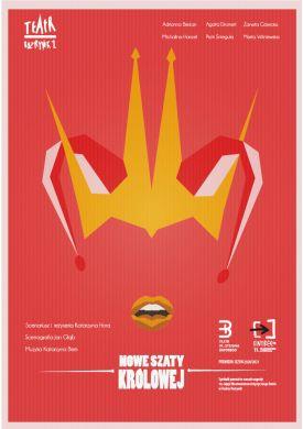 Plakat - Nowe szaty królowej - laureaci 10. edycji ENTRÉE