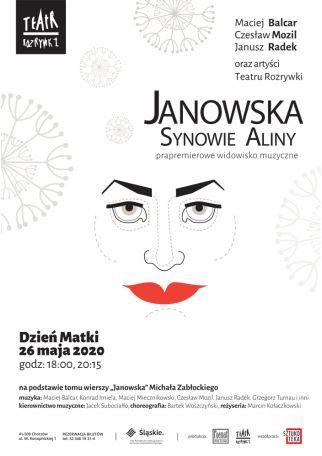 JANOWSKA. SYNOWIE ALINY